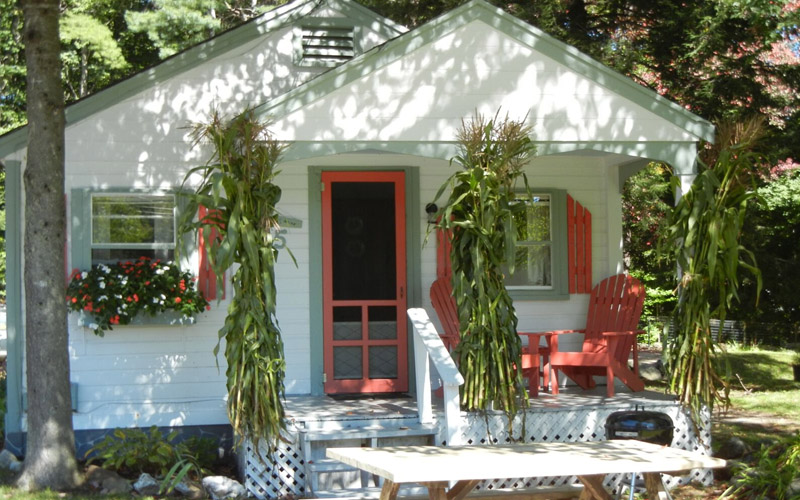Cottage Place on Squam Lake - Fall